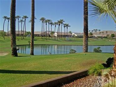 Sun City Palm Desert Golf Lake View