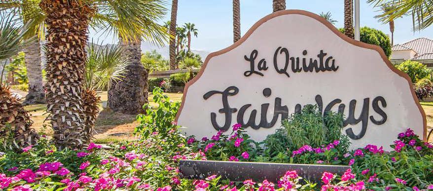 La Qunita Fairways Community Sign